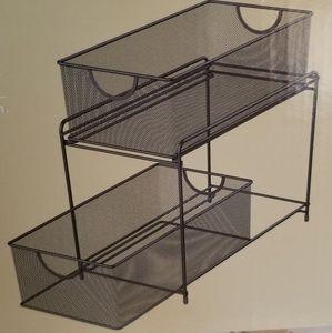 Organizer 2 drawer metal
